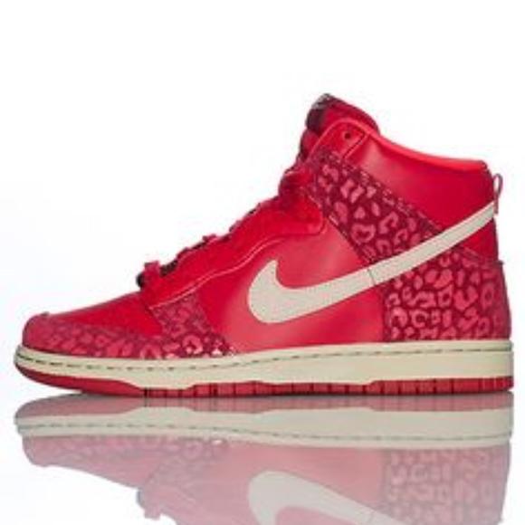hot sale online 5b41a 172c2 Nike Dunk High Skinny Gym Red Leopard Print. M 5a3da70e3800c59464033f98